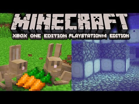 Minecraft 1.8 Snapshot News: Bunnies Confirmed Ocean Blocks Structure PS4 Xbox One Clone