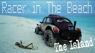 Tamiya Sand Scorcher  on the Island 240fps slow motion