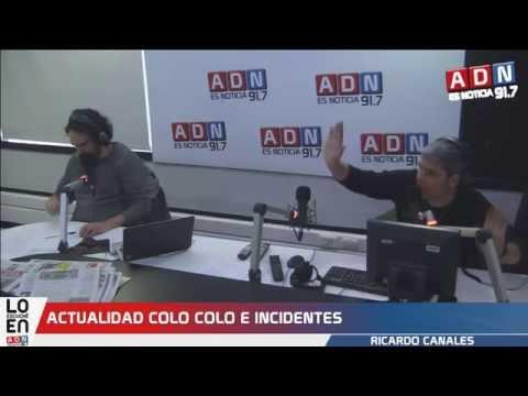 Incidentes en partido de Barnechea vs Colo Colo