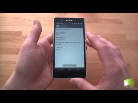 Análisis del Sony Xperia Z en español (30 min)   FAQsAndroid.com