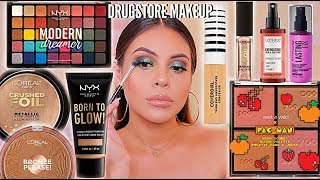 NEW DRUGSTORE MAKEUP TESTED: FULL FACE OF FIRST IMPRESSIONS! HITS + MISSES! | JuicyJas