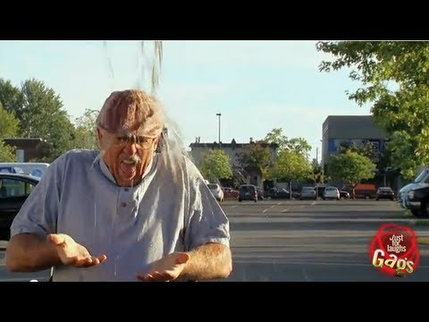 Porta Potty Empties On Old Man!