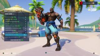 Overwatch Summer Games 2017 - Doomfist's New Voice Lines