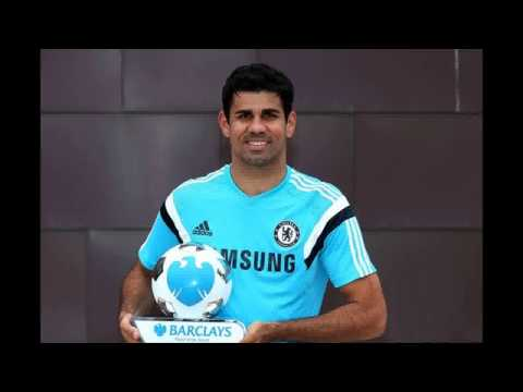 Diego Costa named Barclays Player of the Month for August with Garry Monk scooping managerial gong
