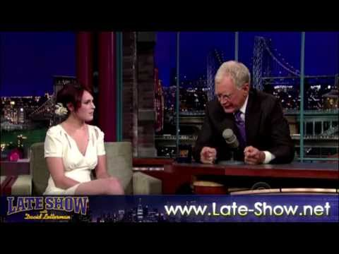 [HD] Rumer Willis on David Letterman - 9/1/2009 // FULL interview