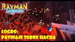 Rayman Legends | Logro: Patinaje sobre hacha | GamePlay HD Xbox One