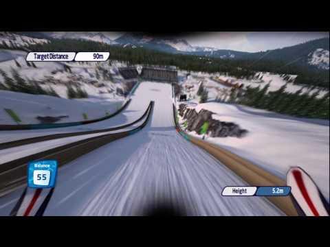 Vancouver 2010 Xbox 360 Ski Jumping Challenge