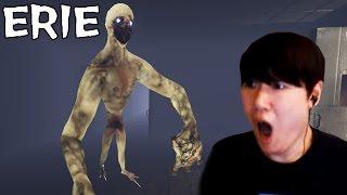 [ERIE]꼬물랑(?)괴물을 피해 연구소를 탈출하라!! [공포게임 실황 김왼팔]
