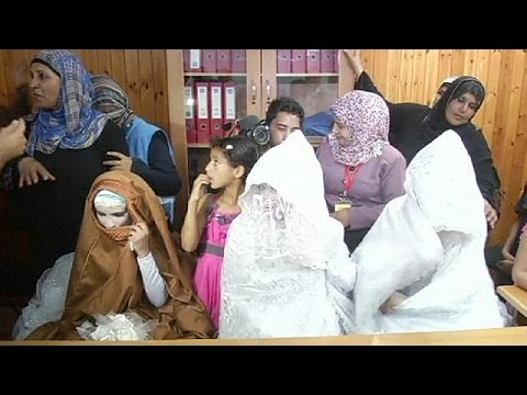 UN helps Gaza couples to get married amid ceasefire