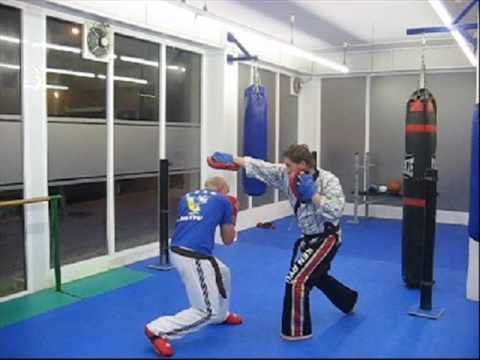 FULL CONTACT SISTEMA DEFENSIVO KICK BOXING KEN RYU SANT BOI