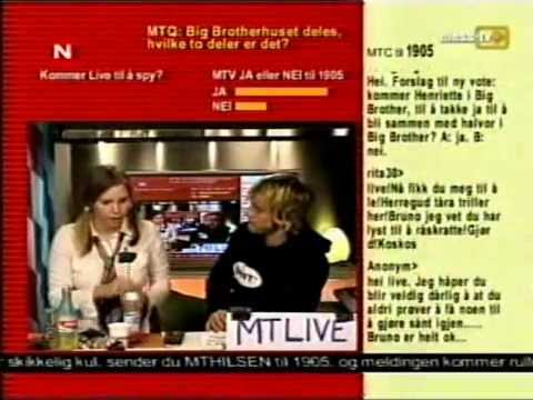 Bloopers: Live Fedog Thorsen pukes on live TV (Mess-TV)
