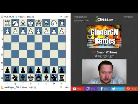 The Ginger GM Plays A Blitz Battle