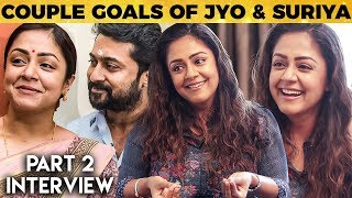 No Fights Ever with Suriya in 12 years - Jyotika's Untold Stories on Couple Goals & Love | MY