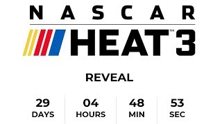 NASCAR HEAT 3 REVEALED ... IN 29 DAYS. // NASCAR Heat 2 Online Cup Racing LIVE