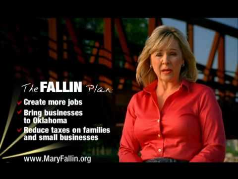 "Mary Fallin for Oklahoma Governor - ""The Fallin Plan"""