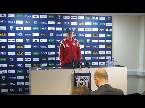 PRESS CONFERENCE | Tony Pulis speaks ahead of Albion's FA Cup tie against West Ham United