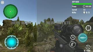 3d mountain sniper shooting Game