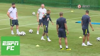 Neymar leaves practice early as injury looms over Brazil's World Cup match vs. Costa Rica | ESPN FC