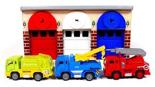 Learn Colors with City Vehicles for Kids | Yippee Toys Video