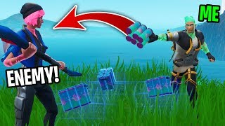 i gave players my shields to help them win... (easy)