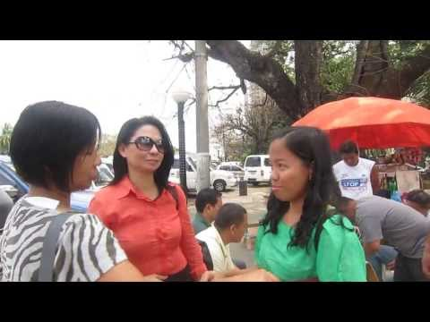 Three Girls in Luneta Park On Hidden Camera!
