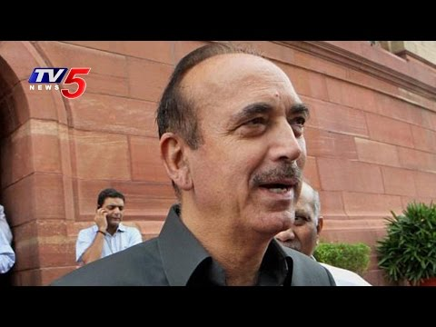 Not Against Art of Living But What About The Environment? | Ghulam Nabi Azad Speech | TV5 News