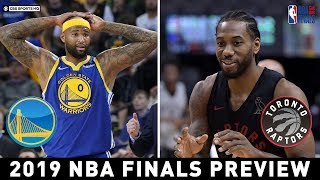 Demarcus Cousins is active for game 1 | 2019 NBA Finals Preview | CBS Sports HQ