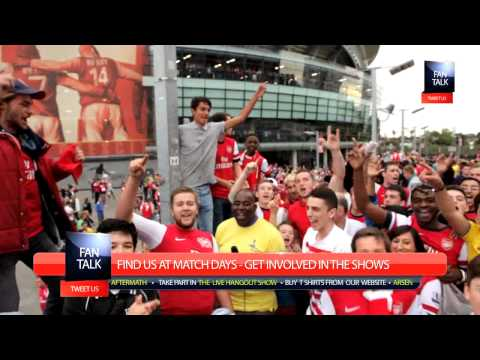 Arsenal FC 1 Spurs 0 - Flamini Chant  - FanTalk - ArsenalFanTV.com