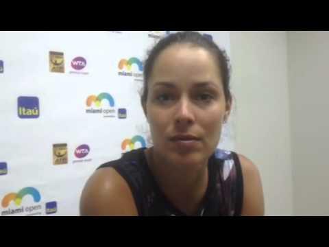 Ana Ivanovic en Miami Open 2015