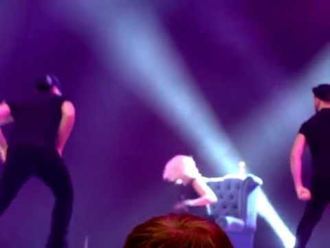 Kimberly Wyatt performing Derriere at Move It 2013