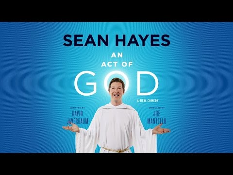 "Sean Hayes in ""An Act of God"" 