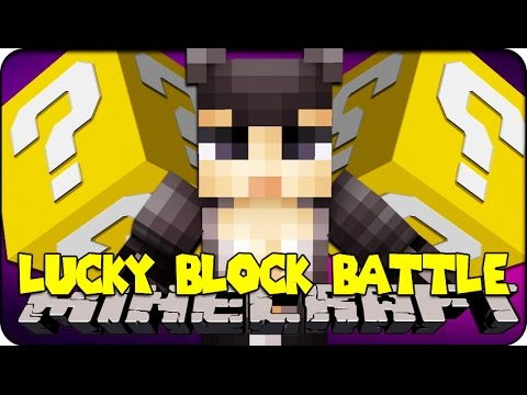 Minecraft - Lucky Block Boss Challenge - Catwoman! (lucky Block Mod ) video