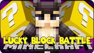 Minecraft - LUCKY BLOCK BOSS CHALLENGE - CATWOMAN! (Lucky Block Mod )