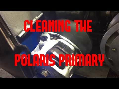 Belt Removal and Clutch Cleaning on your Polaris Snowmobile