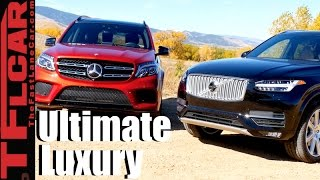 2017 Mercedes-Benz GLS vs Volvo XC90 T6 Mashup Review: The Best European Luxury SUV is...