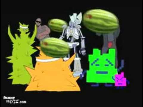 I Like Your Booty(But I'm Not Gay) Aqua Teen Hunger Force Video