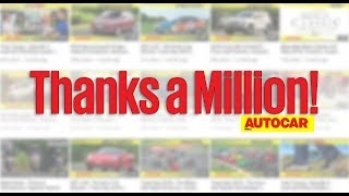 Thank you to our 1,000,000 subscribers! | Autocar India