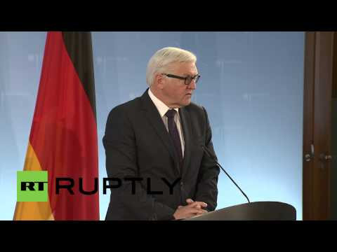 Germany: 'The situation remains fragile' - Steinmeier on Ukraine and Minsk