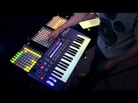 Novation // Live beats with UltraNova and Launchpad: Explained