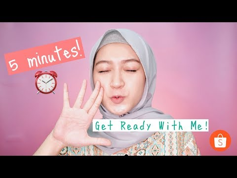 5 MENIT MAKEUP GET READY WITH ME | saritiw - YouTube