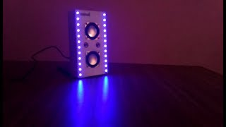 How to make a LED SOUND BOX music