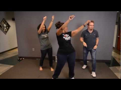 Can Mandisa get Wally to Zumba?