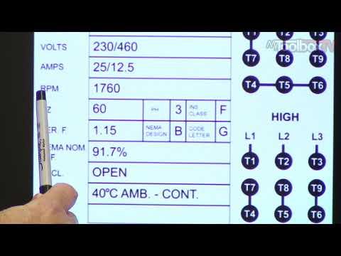 Motor Nameplate Data - MyToolboxTV Ep. 11