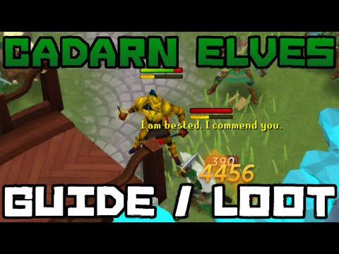 Cadarn Elves Guide and Loot: 2.7M/Hour Money Making! [Runescape 2014]