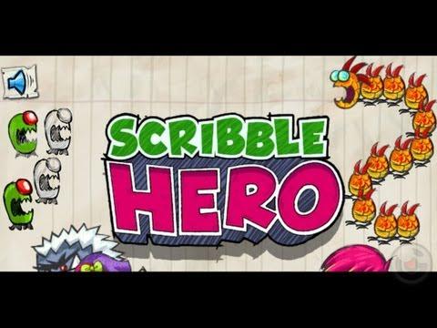 Scribble Hero - iPhone & iPad Gameplay Video