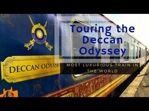 Tour the Most LUXURIOUS TRAIN in the WORLD, in INDIA! Deccan Odyssey