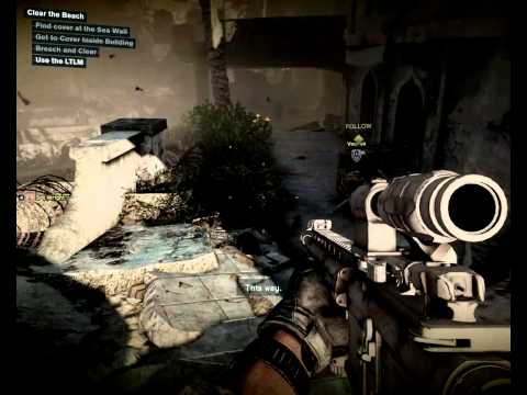 Medal of Honor Warfighter PC Gameplay 1024p on AMD A8-3870K