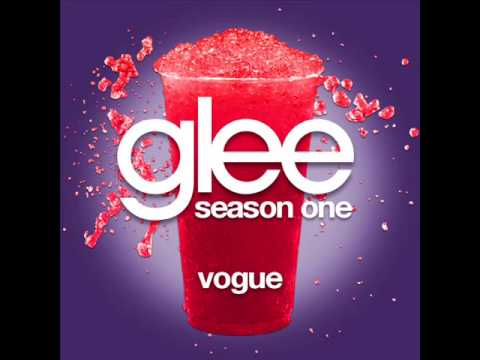 Glee - Vogue [lyrics] video