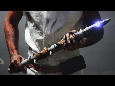 Как сделать шипастую дубинку Доктора из игры Dead by Daylight
