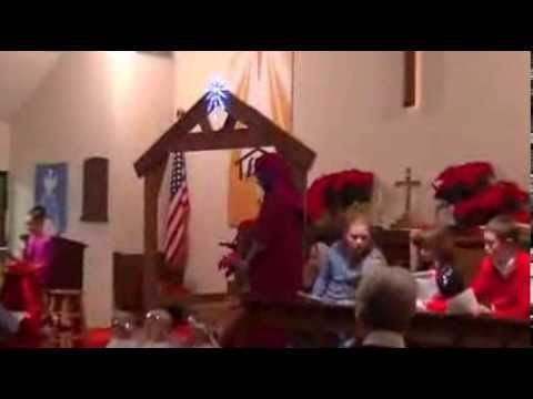 Our Redeemer Lutheran Church 2013 - Youth Christmas Program - 12-22-13